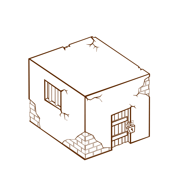 Free Clipart: RPG map symbols: Jailhouse | nicubunu