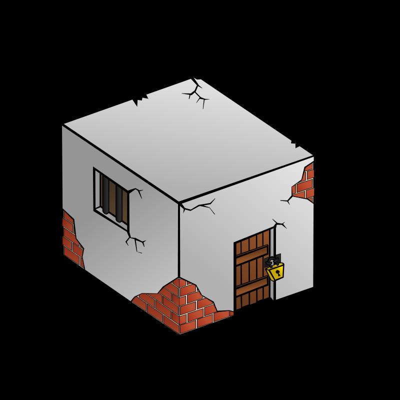 Free RPG map symbols: Jailhouse