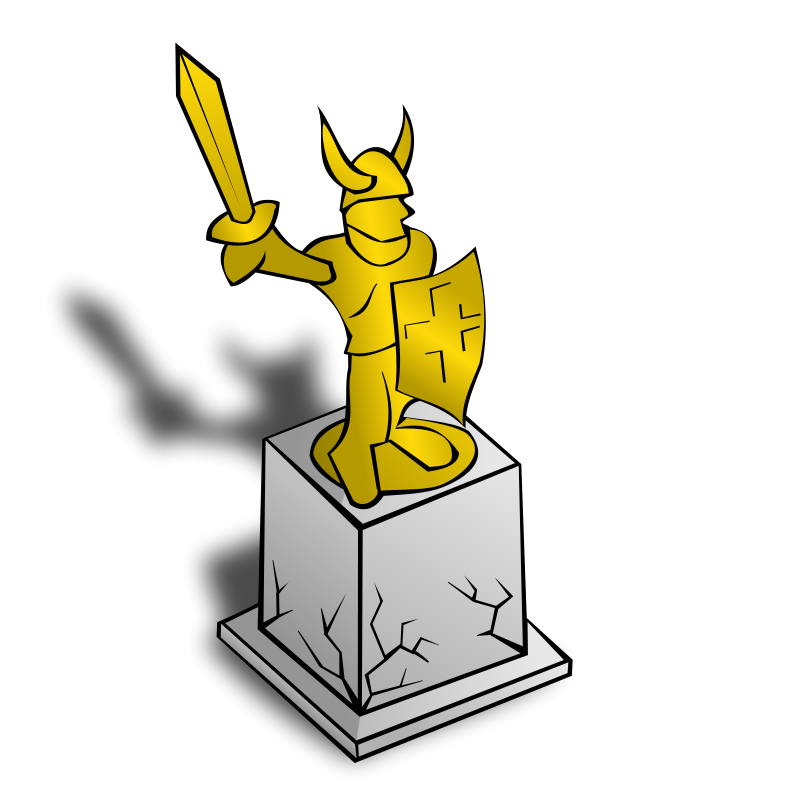 Free RPG map symbols: Statue