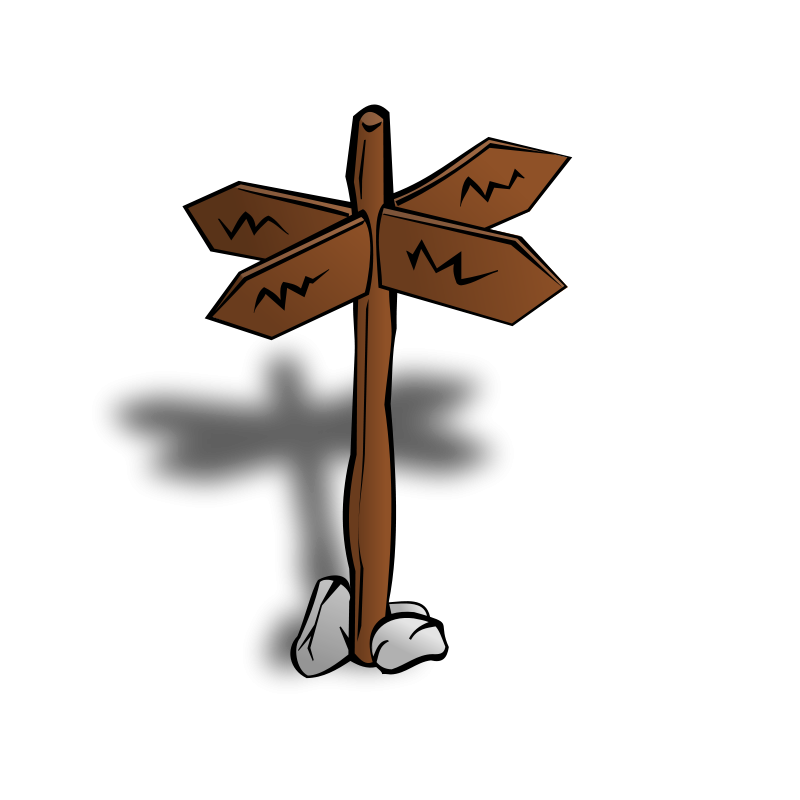 free clipart rpg map symbols crossroads sign nicubunu rh 1001freedownloads com clipart crossroads clip art crossword