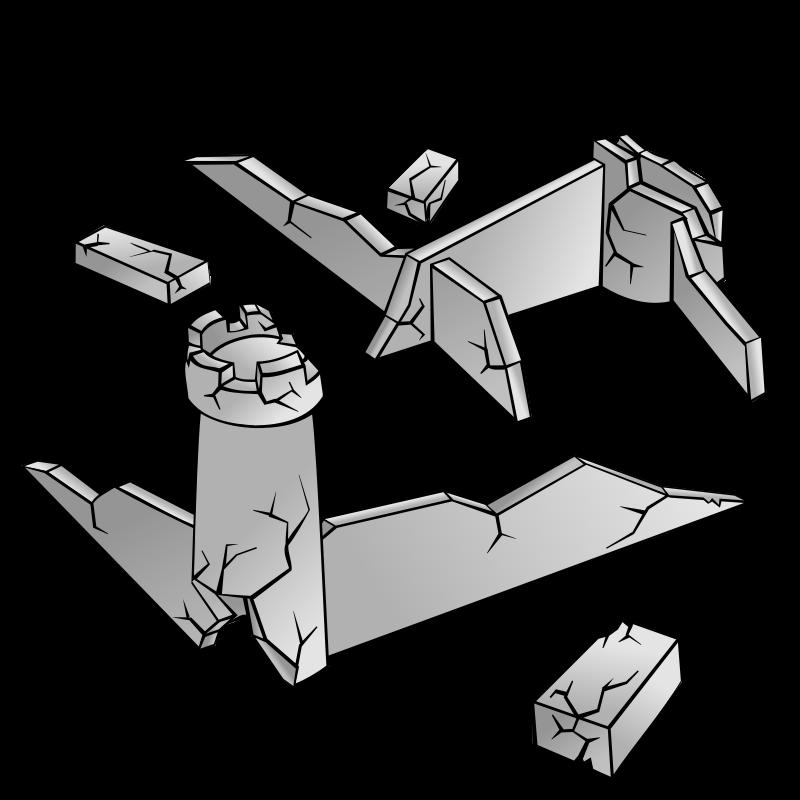 Free RPG map symbols: Ruins
