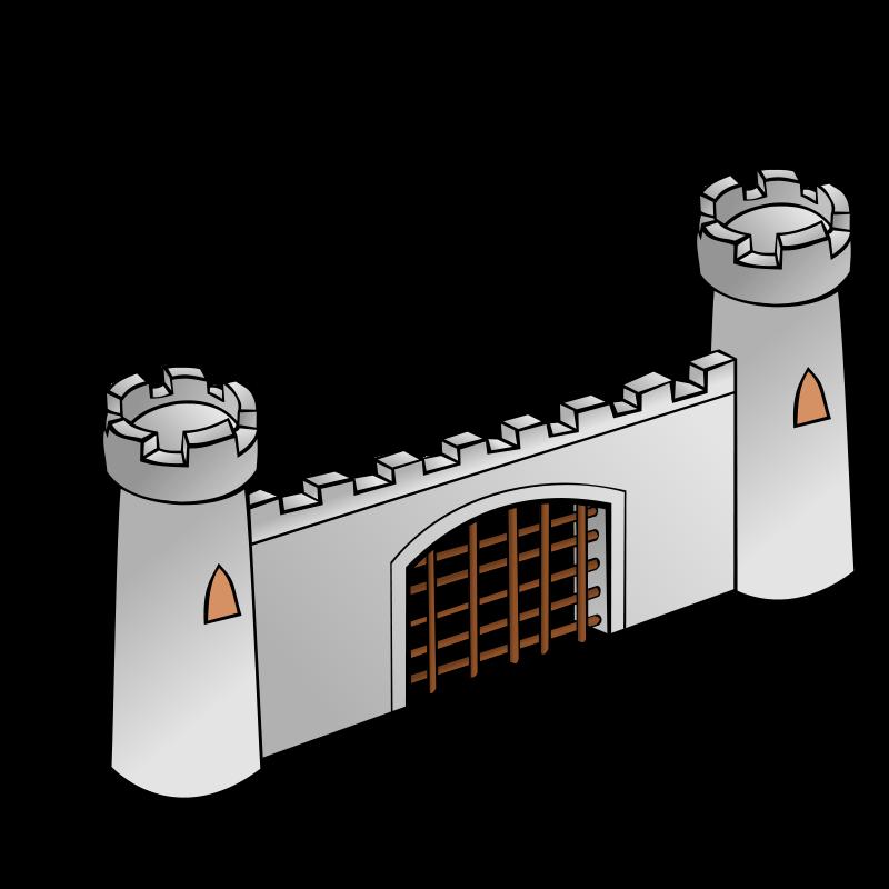 Free RPG map symbols: Gate