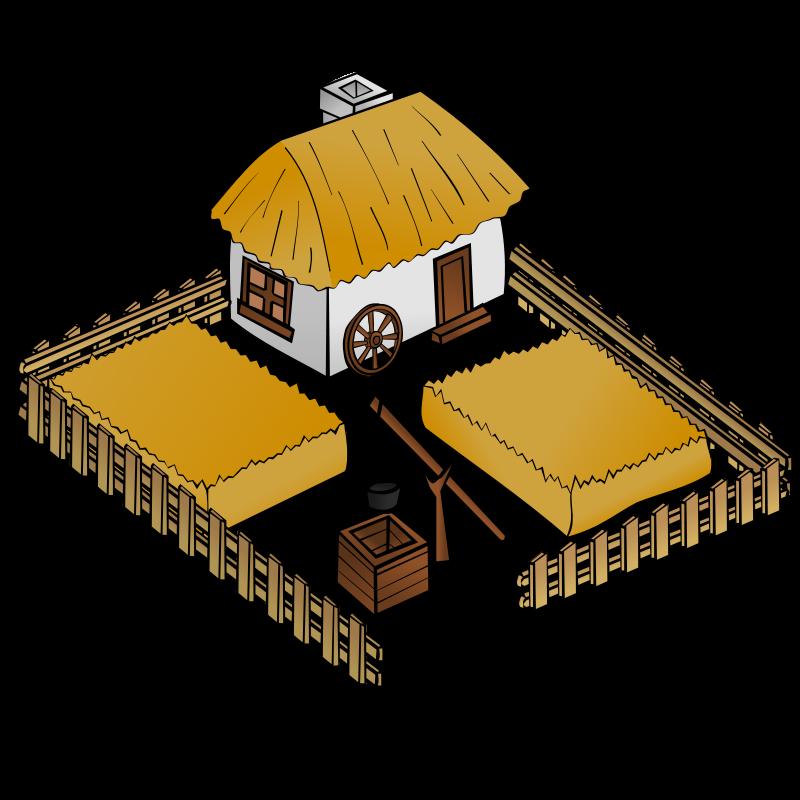 Free RPG map symbols: Farm