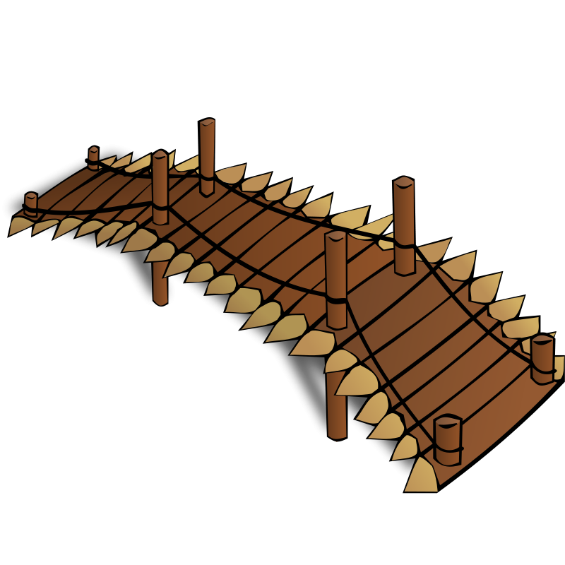 Free RPG map symbols: Wooden Bridge