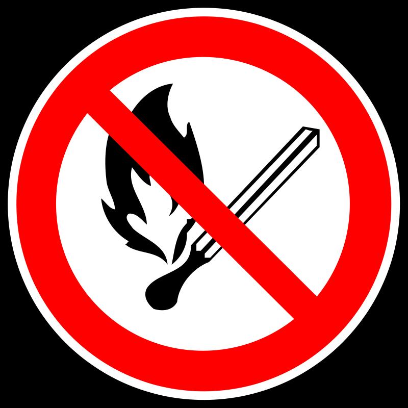 Free Fire forbidden sign