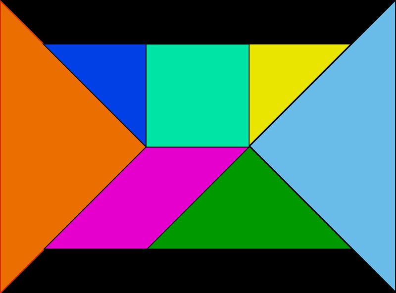 Free tangram