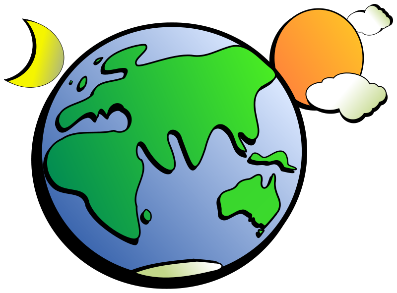 Free Clipart: Aussie Earth | rygle