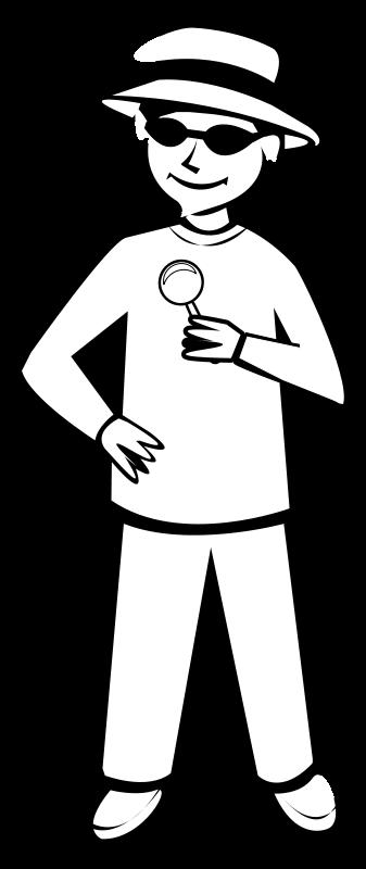 Free Spy Kid Outline 2