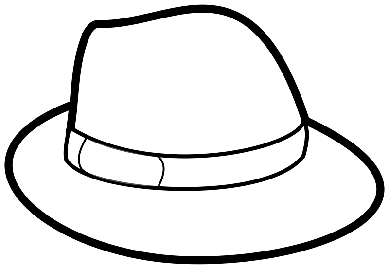 Free Hat Outline