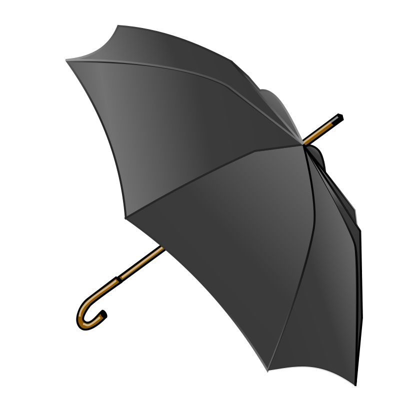 Free Black Umbrella