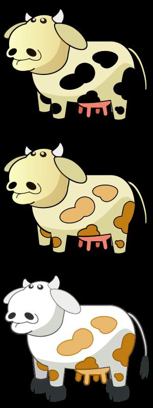 Free Colour Cows