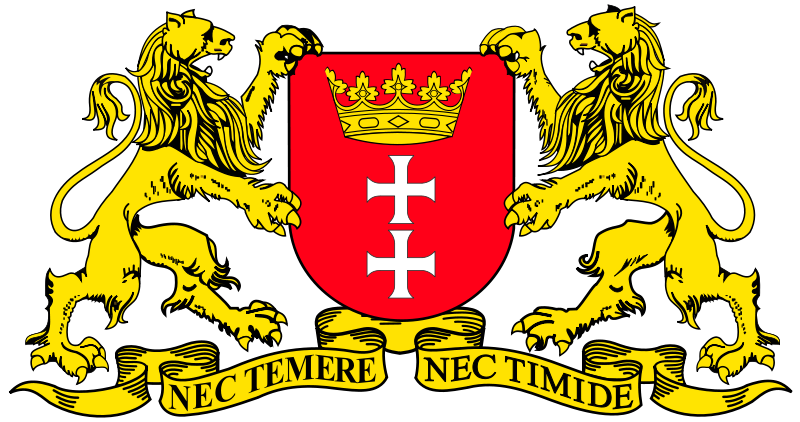 Free Clipart: Gdansk - coat of arms | warszawianka