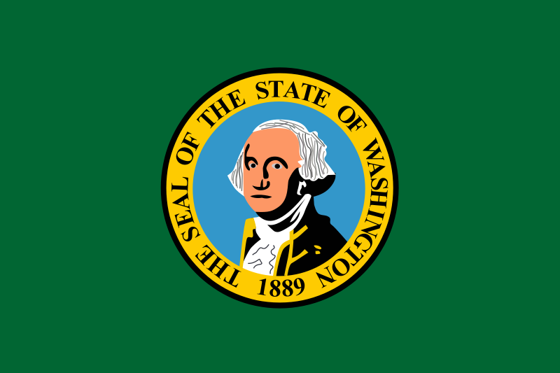 Free Washington state flag