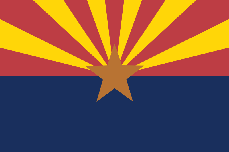 Free Arizona state flag