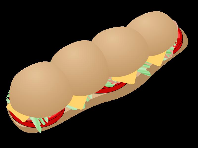 Free submarine sandwich