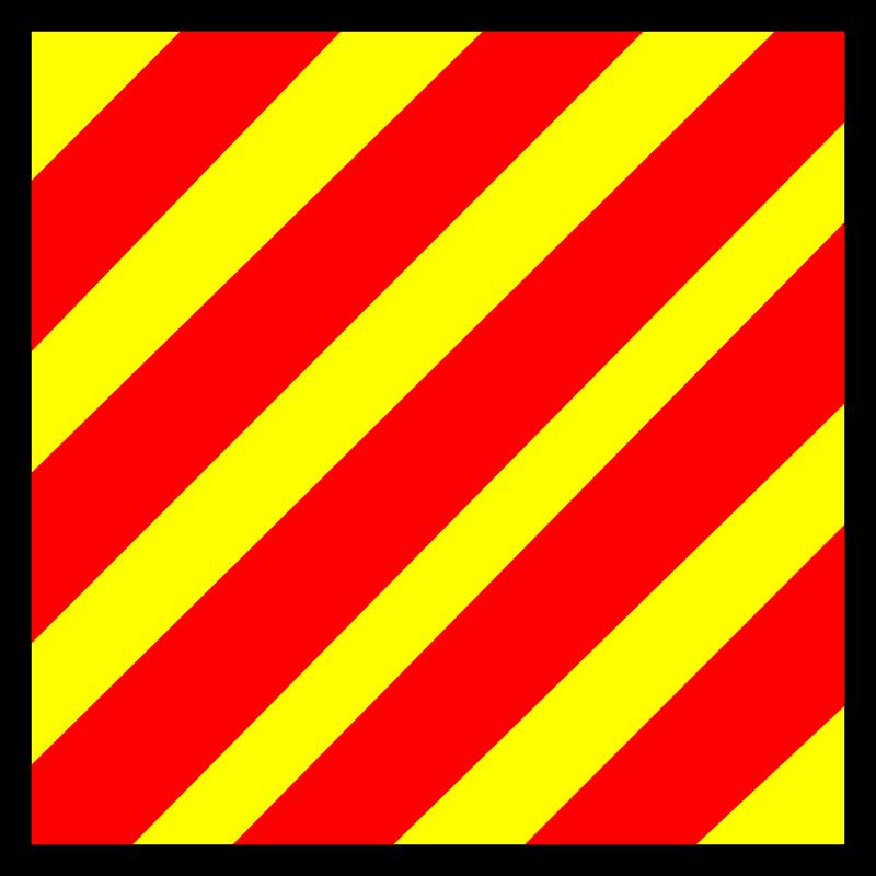 Free signal flag yankee