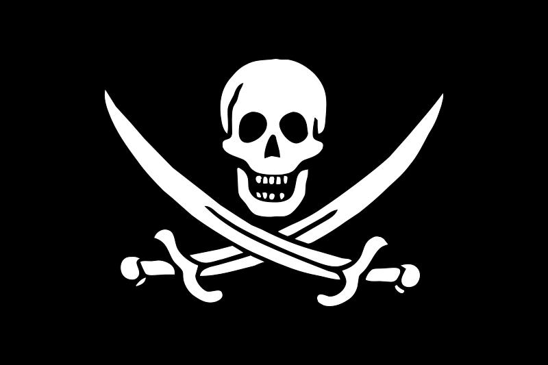 Free pirate flag - Jack Rackham