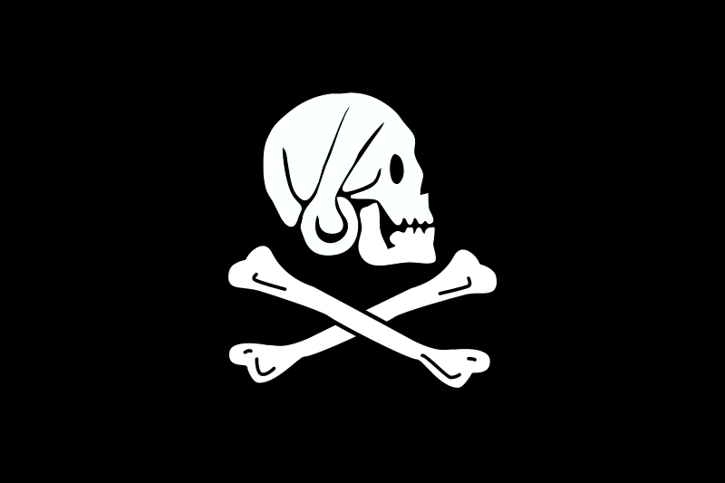 Free pirate flag - Henry Every