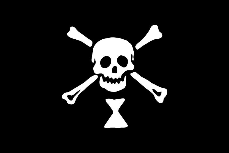 Free pirate flag - Emanuel Wynne