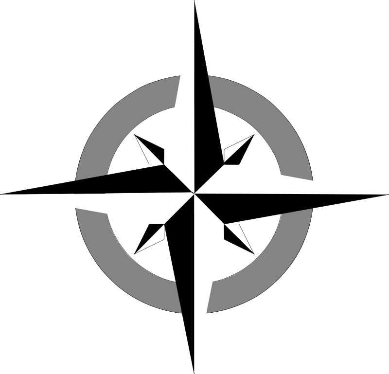 Free Clipart: Compass rose 2 | Anonymous