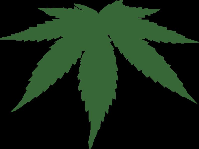 Free cannabis leaf