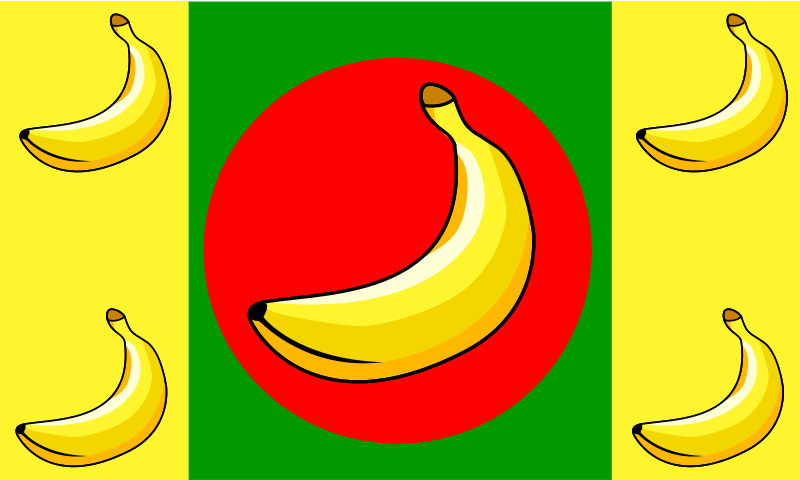 Free Banana Republic Flag