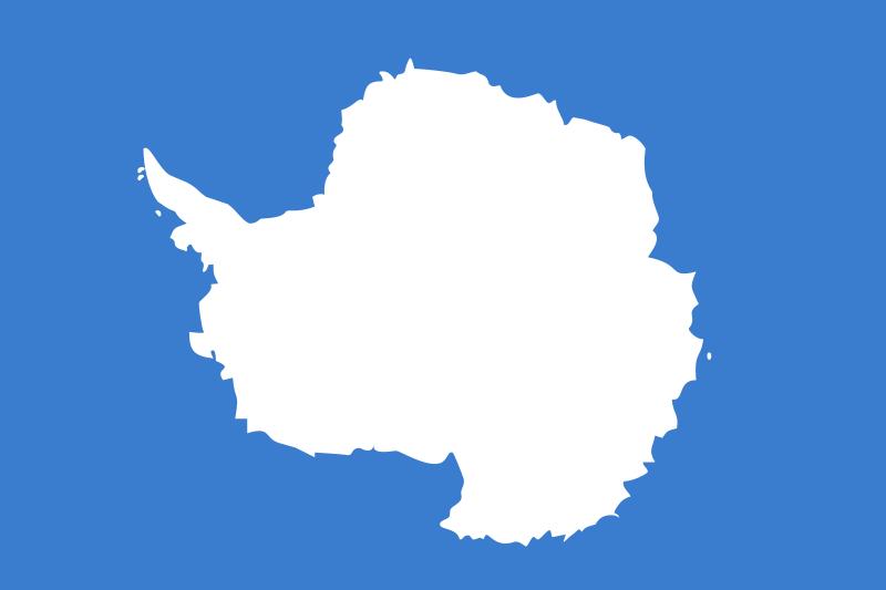 Free Antarctica flag
