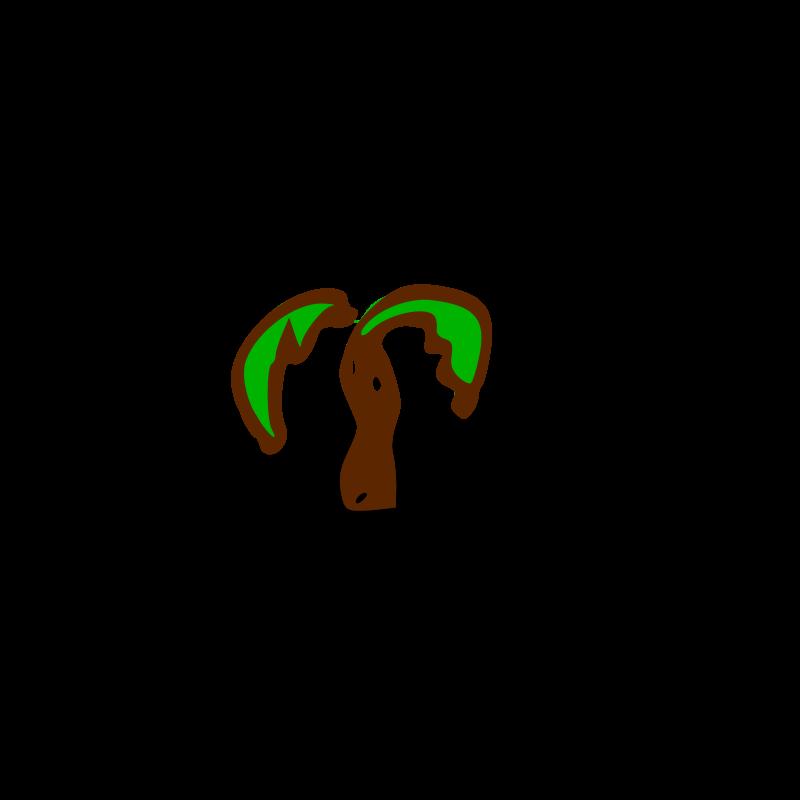 Free Clipart Rpg Map Symbols Palm Tree Nicubunu