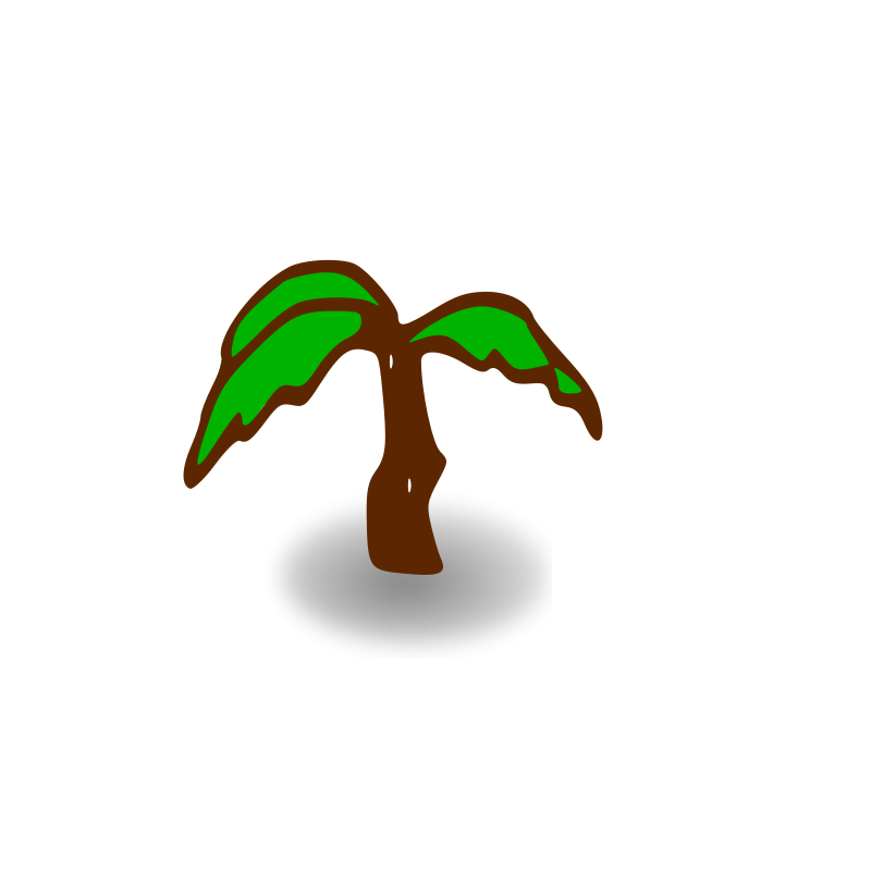 Free RPG map symbols: palm tree