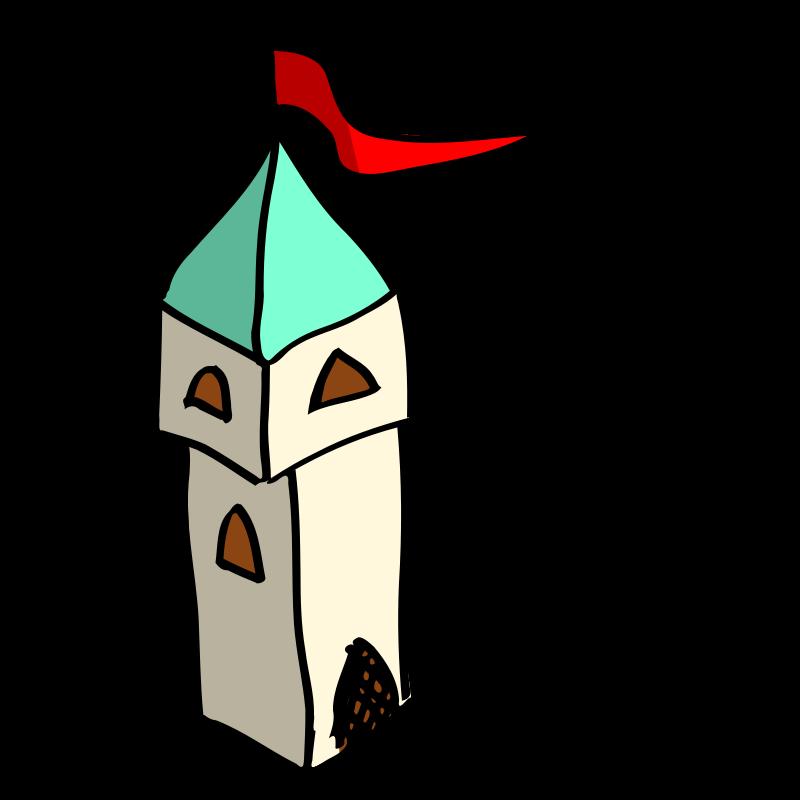 Free RPG map symbols: tower
