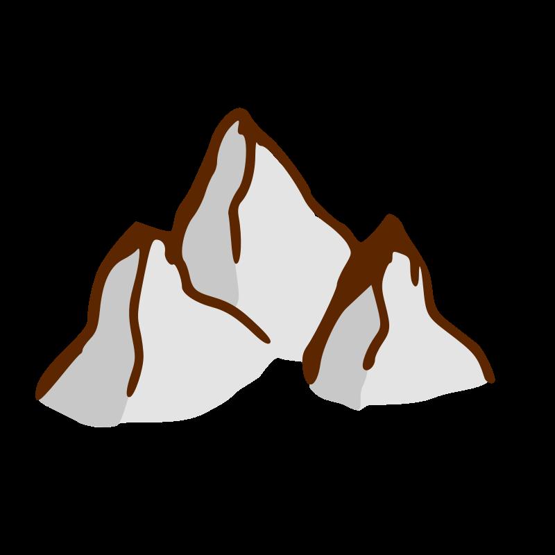 Free RPG map symbols: mountains