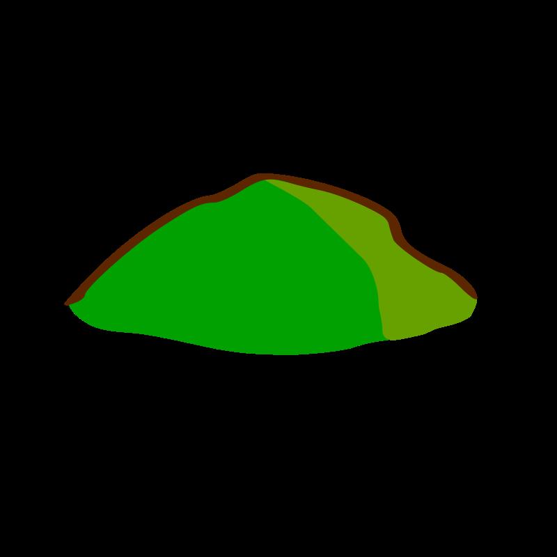 Free RPG map symbols: hill