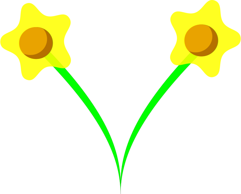 Free daffodil