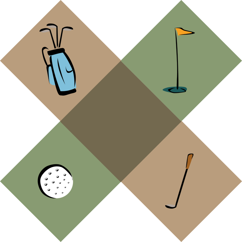 Free Golf Decoration