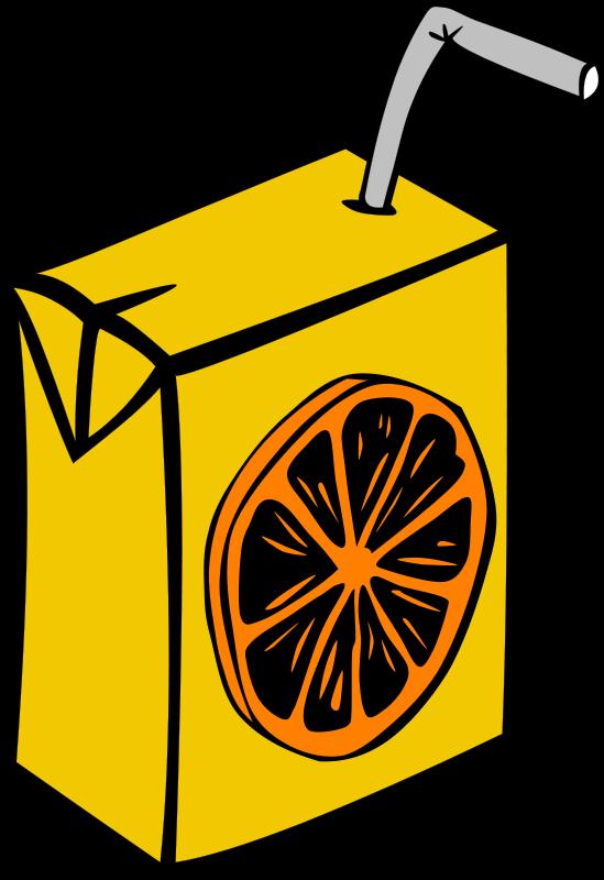 Fast Food, Drinks, Juice, Orange