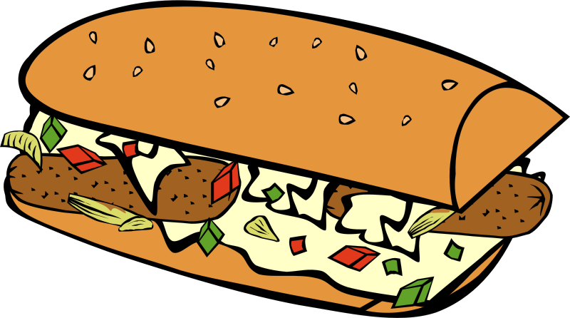 Free Clipart: Fast Food, Breakfast, Sub Sandwich | Gerald_G