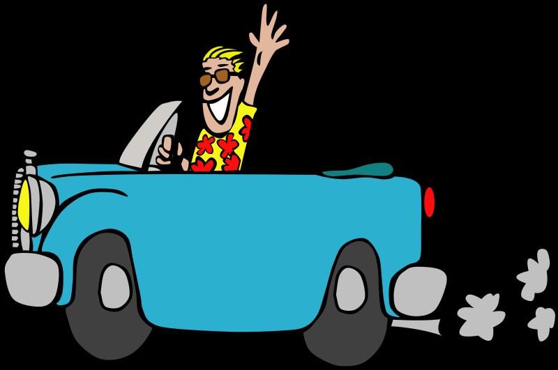 Free Driving a car