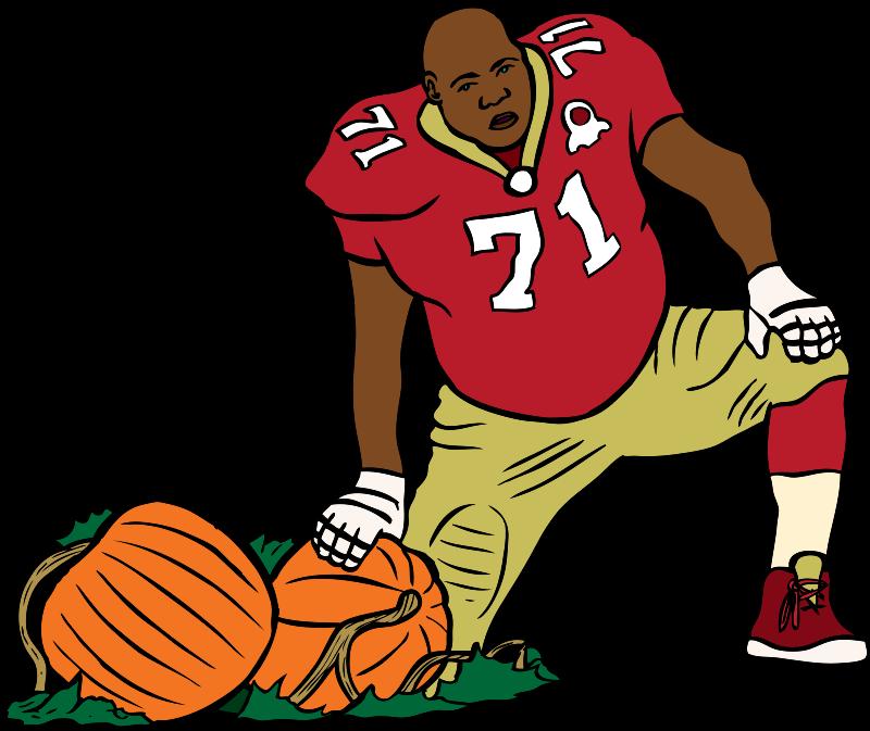 Free SF 49er with a pumpkin