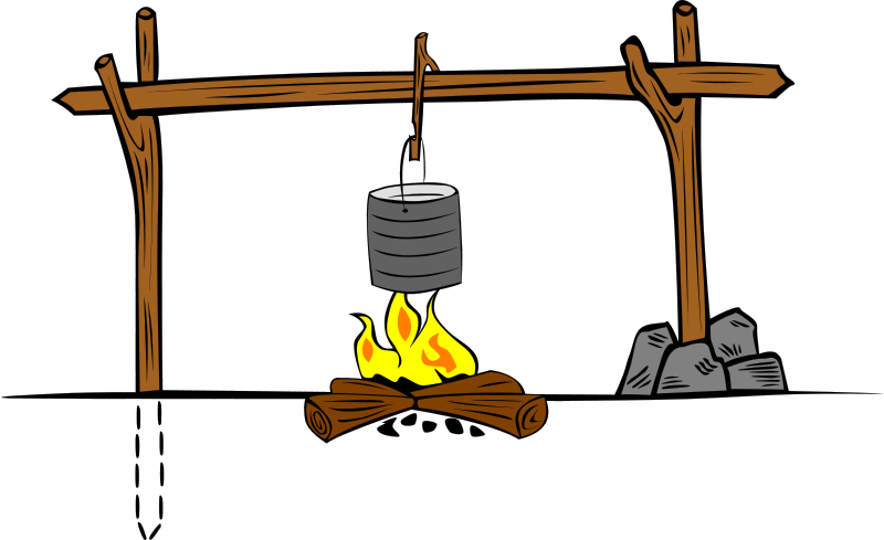 Free Campfires and cooking cranes