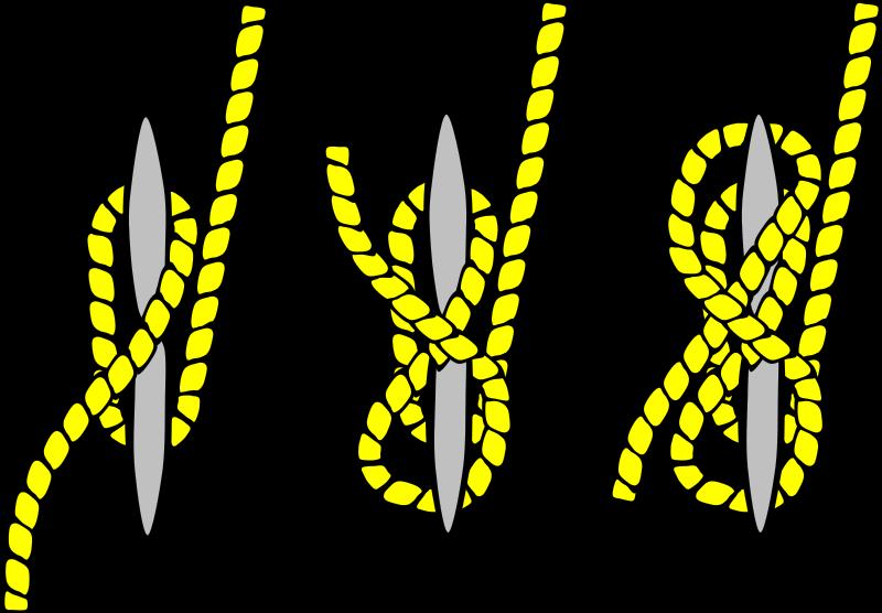 Free Tying Knots