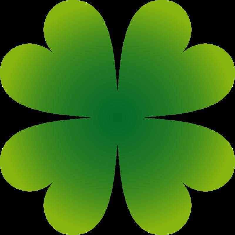 Free four-leaf clover