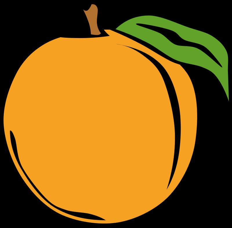 Free Simple Fruit Peach