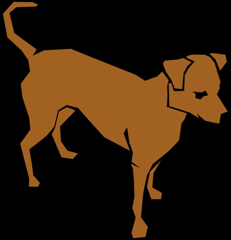 Free Dog (Simple Drawing)