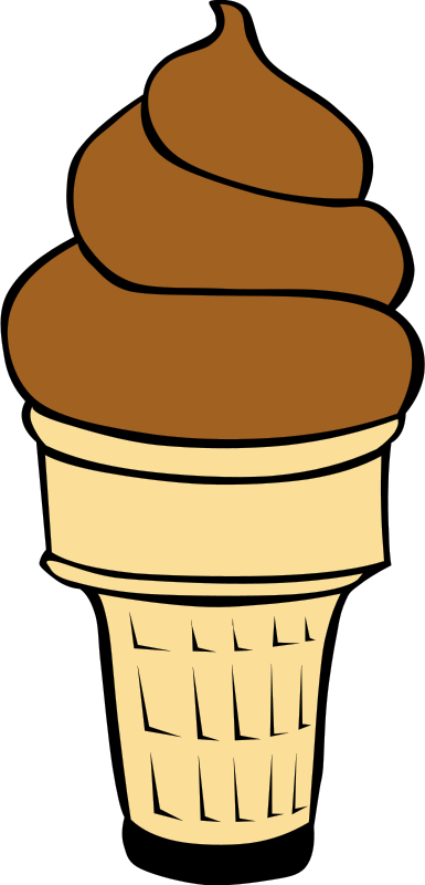 Free Clipart: Fast Food, Desserts, Ice Cream Cones, Soft Serve | Gerald_G