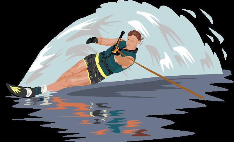 Free Water Skier