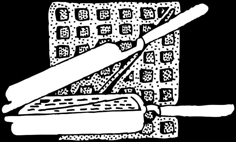 Free waffle and waffle iron