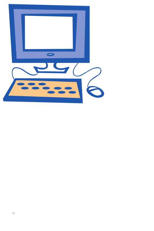 Computer simple. Free clipart ryanlerch