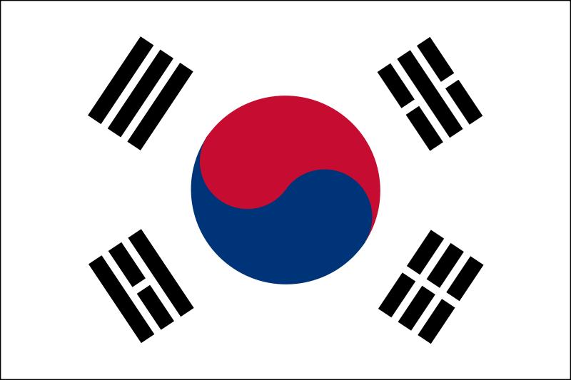 Free South Korean Flag