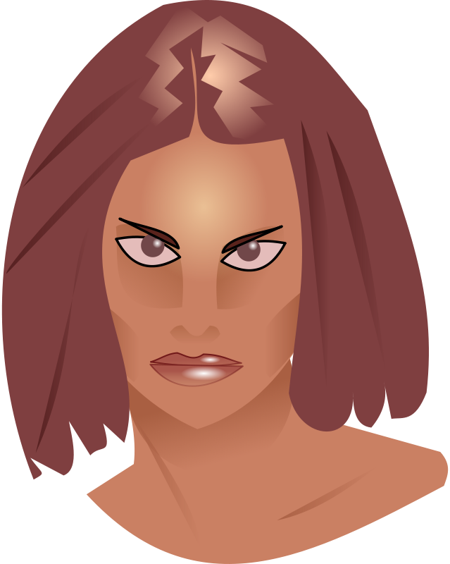Free Clipart: Woman model | Peileppe