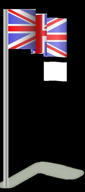 Free Flag of the United Kingdom (wind)